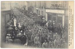 Chalons Sur Marne  Prisonniers Allemands Faits Aux Derniers Combats De Ville Sur Retourne - Châlons-sur-Marne
