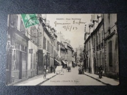 Cpa 21 Dijon  Rue Berbisey - Dijon