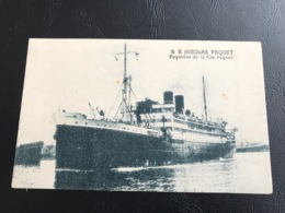 S.S NICOLAS PAQUET Paquebot De La Cie Paquet - Passagiersschepen