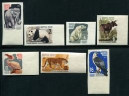 Russia 1964 Mi 2914-2920 B MNH ** Moscow Zoological Gardens - 1923-1991 USSR