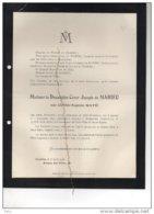 César De Mahieu Née Clotilde Rayé °Anvers 1832 + Folkestone (angleterre England ) 11/4/1918 Sint Gillis Van De Pol - Avvisi Di Necrologio