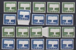 Europa Cept 1957 Germany 2v (10x) ** Mnh (44983) Promotion - 1957