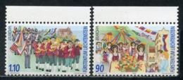 LIECHTENSTEIN 1998 1165-1166 EUROPA 1998 - Festivals And National Holidays - 1998
