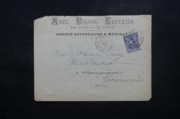 FRANCE - Enveloppe Commerciale De Paris Pour Beauvais En 1877, Affranchissement Sage - L 44263 - Marcophilie (Lettres)