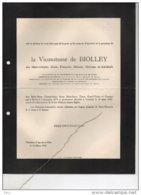 De Biolley Née De Ramaix °Berlin 1879 + Verviers 13/3/1952 Van De Werve De Vorsselaer Quarles Von Ufford - Avvisi Di Necrologio