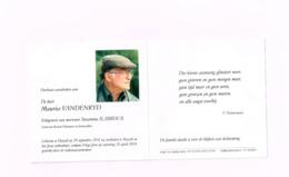 Maurice Vandenryd,Hasselt 28.9.1931,Hasselt 26.4.2014,Korea Veteraan. - Avvisi Di Necrologio