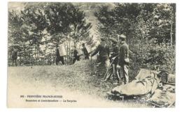 CPA 01 FRONTIERE FRANCO-SUISSE DOUANIERS ET CONTREBANDIERS LA SURPRISE - Non Classés
