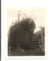 Photo Originale Du JAPON -  Photo D'un Bateau Japonais En Cale: KUROSHIO MARU N° 23 - Bateaux