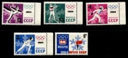 Russia 1964 Mi 2866-2870 A MNH ** - 1923-1991 USSR