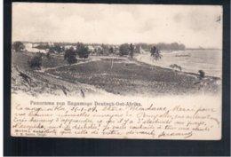 TANZANIA Panorama Von Bagamoyo, Deutsch- Ost- Afrika 1904 Old Postcard - Tanzania