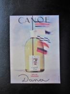 Belle Carte Parfumée CANOE Dana Eau De Cologne - Belle Illustration - TBE - Vintage (until 1960)