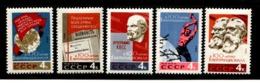 Russia 1964 Mi 2948-2952  MNH ** - 1923-1991 USSR