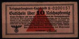 Geldschein Banknote Lagergeld Kriegsgefangenenlagergeld 516 S 8 II-III.Wehrmacht - Unclassified
