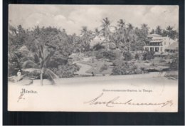 TANZANIA Afrika Gouvernements-Garten In Tanga 1900 Old Postcard - Tanzania