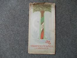 12665-CARTA DELLA TRIPOLITANIA E CIRENAICA - SCALA 1:5000.000 - Carte Geographique