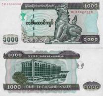 Myanmar 2004 - 1000 Kyat - Pick 80 UNC - Myanmar