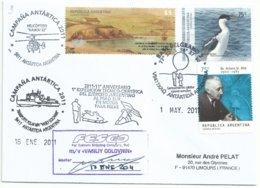 Malouines - Cormoran - Dr Arturo U Illia - Posté à Bord Vasiliy Golovnin - Base Antarctique Argentine - Argentine