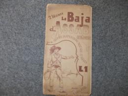 12666-CARTA GEOGRAFICA - LA BAJA DI ASSAB - SCALA 1:300.000 - Cartes Géographiques