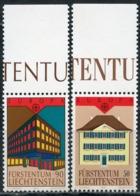 LIECHTENSTEIN 1990 984-985 EUROPA 1990 - Post Offices - Europa-CEPT