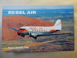 DOUGLAS  DC 3      REBEL AIR   VH-PAM - 1946-....: Era Moderna