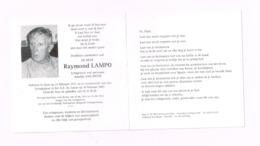 Raymond Lampo.Gent,23.2.1931,10.2.2007.Oorlogsvrijwilliger Voor KOrea. - Avvisi Di Necrologio
