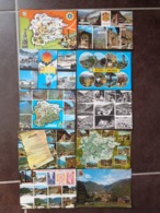 169 CARTES D'ANDORRE DONT 108 AVEC TIMBRES + 1 CARNET TIMBRES NEUFS - 100 - 499 Cartes