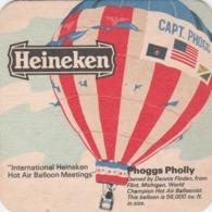 UNUSED BEERMAT - HEINEKEN LAGER (AMSTERDAM, HOLLAND) - PHOGGS PHOLLY BALLOON - (Cat No 041) - (1974) - Bierdeckel