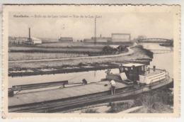 Harelbeke - Zicht Op De Leie (vlas) ,- Uitg. G. Vandebuerie-Libeer, Harelbeke - Harelbeke