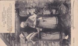 18,Cher,FOLKLORE,Les Chansons De JEAN RAMEAU Illustrées, La Laitière,avec Légende - France