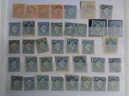 GROS LOT EN CLASSEUR DE CLASSIQUE CERES, NAPOLEON & AUTRES ( NON DENTELES ET DENTELES ) VOIR PHOTOS - Briefmarken