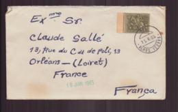 Portugal, Enveloppe Du 15 Juin 1965 De Alhos Vedros Pour Orléans - 1910-... República