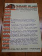 1928 PUBBLICITA' LISTINO CAMPIONE COLORI TALENS & ZOON APELDOORN -OLANDA HOLLAND - Publicités