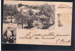 TANZANIA Zanzibar Victoria Gardens H.H. The Sultan1902  Old Postcard - Tanzania