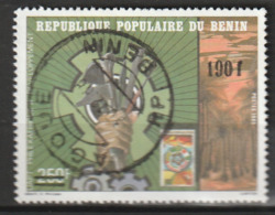 BENIN - TIMBRE SURCHARGE - N° 469 B  Obl (1988) - Benin – Dahomey (1960-...)