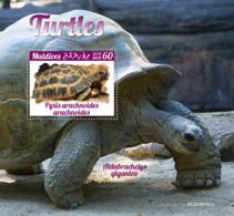 Maldives 2019 Turtles Fauna Turtle S/S MLD190701 - Francobolli