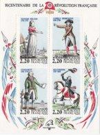 Feullet Bicentenaire De La Révolution Française N° 2592 à 2595 - Nuevos