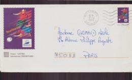 Martinique, Enveloppe Du 31 Décembre 1996 De Lamentin Pour Paris - Briefmarken