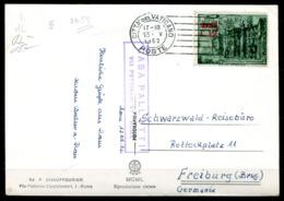5210 - VATIKAN - Mi.187 Auf Postkarte Nach Freiburg (Breisgau) - Vatikan