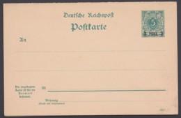 Ganzsache P 3, Kplt. Doppelkarte Mit Aufdruck, Ungebraucht - Kolonie: Duits Oost-Afrika