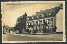 1.1 // CPA - MESNIL ST BLAISE - Houyet - La Maison Rose   // - Houyet