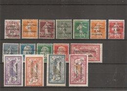Syrie Française ( Lot De Timbres Taxe Divers Différents X -MH)) - Unused Stamps