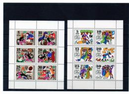DDR, 1968/69, Michel 1426/31 U. 1450/55 - KB, Postfrisch/**/MNH, Märchen 3 U. 4, Gestiefelter Kater/Jorinde Und Joringel - [6] Oost-Duitsland