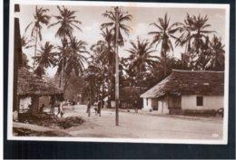 TANZANIA Dar- Es- Salam Native Quarter Eingeborenviertel Old Photo Postcard - Tanzania