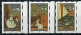 LIECHTENSTEIN 1988 954-956 History Of The Post. Art. Letters (Mail) - Correo Postal