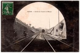 CPA Nissan 34. Entrée Du Tunnel Du Malpas, 1908 - Andere Gemeenten