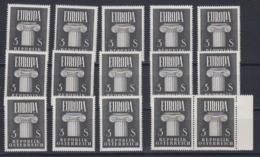 Europa Cept 1960 Austria 1v (15x) ** Mnh (44987) - 1960