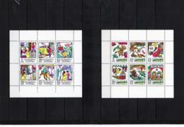 DDR, 1972/73, Michel 1801/06 U. 1901/06, - KB, Postfrisch/**/MNH, Märchen 7 U.8, Schneekönigin/Hechtes Geheiß - [6] Oost-Duitsland