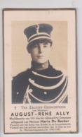 Souvenir Deuil   Gendarme  Zomergem - Lovendegem    1946 - Avvisi Di Necrologio