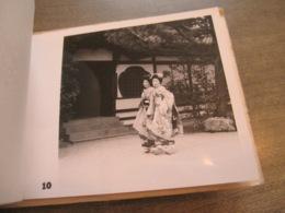 Rare Antique Booklet Photographs Photo KYOTO Japan Torii At Heian Shinto Priests Geisha Maiko Higashi Kiyomizu Kinkakuji - Sporten