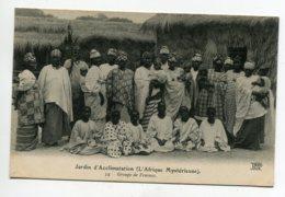 AFRIQUE Mysterieuse Groupe De Femes Cases No 54  ND   JARDIN D'ACCLIMATATION    D14  2019 - Postales